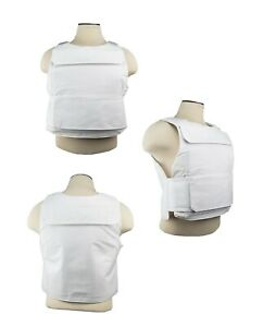 NEW NcSTAR Discreet Plate Carrier M-2XL Adjustable- White