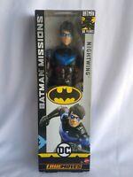 "DC NIGHTWING True Moves 12"" Inch Scale Batman Missions Figure Mattel GCK90"