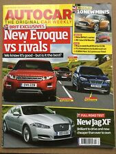 Autocar Magazine - 20 July 2011 - Evoque v Rivals Jag XF Nissan 370Z Micra