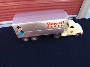 "Vintage Tonka Morrell Meats Semi Refrigerated Tractor Trailer Truck RARE 24"" x 9"