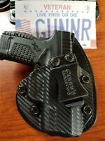 FITS S&W,  CZ, CANIK,  STEYR MODELS IWB HYBRID HOLSTER KYDEX & LEATHER  CCW