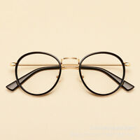 Retro Oval Optical Eyeglass Frame Clear Lens Spectacle Eyewear Anti Blue Light