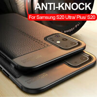 Shockproof TPU Leather Case for Samsung Galaxy S20 S10 S9 S8Plus/S20 Ultra Cover