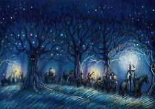New Modern Postcard Hobbit Tolkien LOTR Unposted Art Souvenir Gift Gnedkova