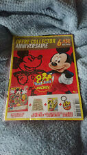 LE JOURNAL DE MICKEY ANNIVERSAIRE 80 ANS Collector Rare Neuf sous blister