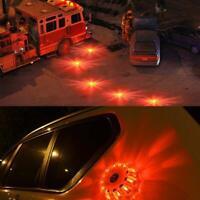 15 LED Auto rundes magnetisches Blinklicht Strobe-Warnlichter Rundumkennleuchte