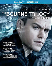 The Bourne Trilogy (Blu-ray/Digital Copy, 2016, 3-Disc Set)
