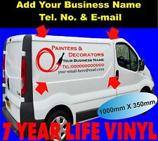 Vehicle Sign Writing Self Adhesive Vinyl Graphics Van Sign-Making Water-Proof