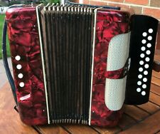 Altes Akkordeon Weltmeister Kleines Knopfakkordeon Ziehharmonika Klingenthaler