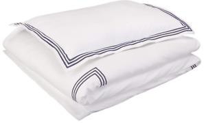 Embroidered Hotel Stitch Duvet Cover Set - Premium, Soft, Easy-Wash Microfiber 3