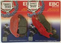 EBC FRONT and REAR Disc Brake Pads fits Honda CRF250L / Rally (2013 to 2020)