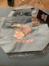 Listen Flavor Little Twin Stars Mini Bag Tote Kiki & Lala Blue Sanrio