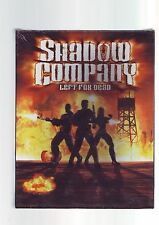 SHADOW COMPANY : LEFT FOR DEAD - ORIGINAL RARE BIG BOX PC GAME - NEW & SEALED