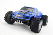 Funrace FR01C15 Monstertruck RC Auto 50 kmh 4WD Allradantrieb 2,4 GHz 1:18 Blau
