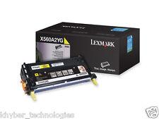 Lexmark X560A2Yg Yellow Laser Toner Cartridge 4K  Genuine Lexmark
