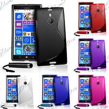 Zubehör Schutzhülle Cover Silikon TPU S-LINE Serie Microsoft Nokia Lumia