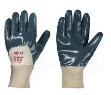 120 Paar Nitril Handschuhe blau, Arbeitshandschuhe, Schutzhandschuhe, Größe 9
