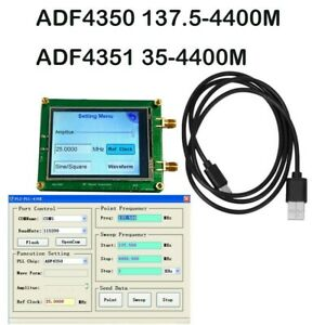 ADF4350 ADF4351 RF Signal Generator Wave/Point Frequency Can Be Controlled By PC
