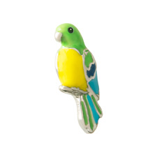Origami Owl Parrot Charm