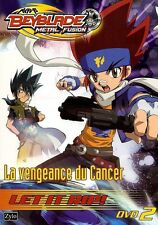 BEYBLADE METAL FUSION 2 - LA VENGEANCE DU CANCER /*/ DVD DESSIN ANIME NEUF/CELLO