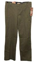 OP Ocean Pacific Twill Pants Slim Straight Leg Women's Size 5 Jeans NWT Green