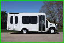 2014 Ford E-350 10 Passenger Paratransit Shuttle Bus Used