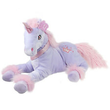Girlie Paws Kids Purple Unicorn Plush Soft Toy Girls Stuffed Figure Doll 13 Inch