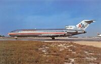 American boeing 727-227 ADVANCED Airplane Postcard