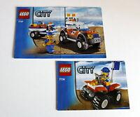 Lego 7736 7737 City Bauanleitung gebraucht ohne Steine 49