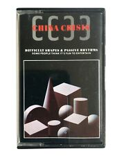 China Crisis - Difficult Shapes & Passive Rhythms - Cassette TCV 2243