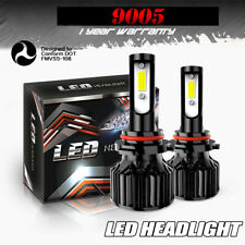 2X 9005 HB3 LED Headlight Kit White 3200LM High Beam Fog Bulbs for Honda GMC