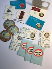 Lot of 14Vintage Sewing Needle Books With Needles.