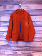 Men's Patagonia Insulated Snowshot Ski Jacket color Copper Ore size large