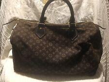 acdf18c06c9a Auth Louis Vuitton Idylle Mini Lin Speedy 30 Hand bag Satchel Purse Brown  SP0027