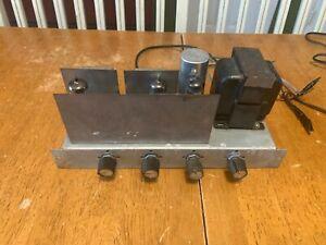 Rare RCA stereo tube 6BQ5 Single Ended stereo amplifier Vintage SE