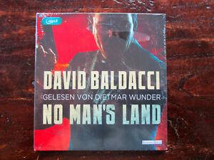 "David Baldacci ""NO MAN'S LAND"",2 mp3-CDs,ungekürzt,neu,OVP,ohne Porto"