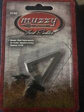 Muzzy Fred Eichler Series Phantom Replacement Bleeder Blades #3150