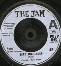 "Jam Beat surrender 7"" WS EX/- uk signifiant POSP 540"