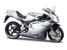 MV AGUSTA F4S 1+1 Silver Scale 1:18 MOTORCYCLE MODEL BY BBURAGO