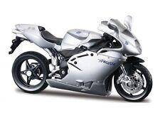 MV AGUSTA F4S 1+1 argent échelle 1:18 modèle de moto PAR BBURAGO