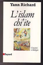 L'Islam Chi'ite Yann RICHARD