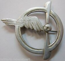 Insigne BREVET PILOTE PERS. VOLANT 1914/1918 ORIGINAL WINGS Aviation WWI Air