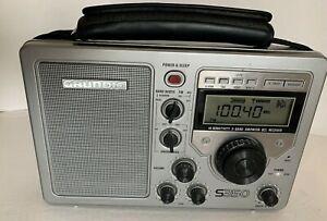 Grundig S350 Field Radio 3 Shortwave Bands + AM / FM World Receiver TESTED