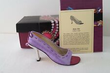 """Just The Right Shoe """" Bow Me"""" 2000 Ret. Orig Box-All Papers Nip"""