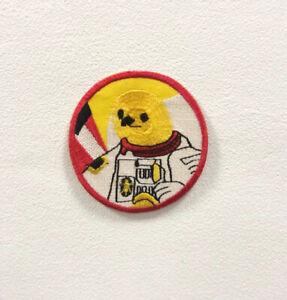 Astronaut Colourful Badge Clothes Iron on Sew on Embroidered Patch appliqué