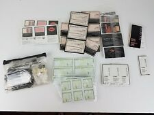 Huge Lot of MARY KAY makeup & cosmetic samples and bag of Brushes - Ships Free -