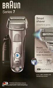 Braun Series 7 7897cc Men's Electric Shaver Wet/Dry with Clean and Renew Charger