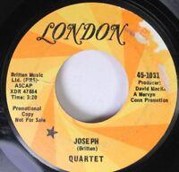 Hear! Psych Promo 45 Quartet - Joseph / Mama Where Did You Fail On London (Promo