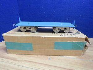 Roberts Lines standard blue flatcar 588524