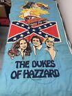 Dukes of Hazzard sleeping bag Rare 1981 Warner Bros General Lee